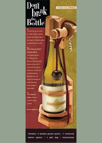 Don't Break The Bottle Corkscrew Puzzle Box