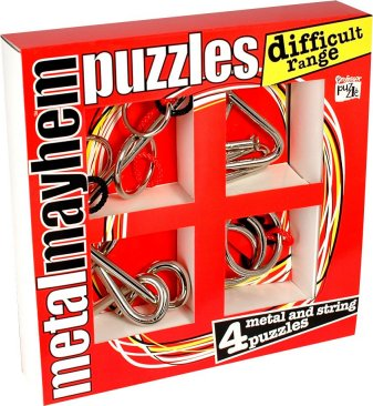 Metal Mayhem Puzzles - Difficult Range